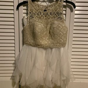 Dresses & Skirts - Two piece homecoming dress